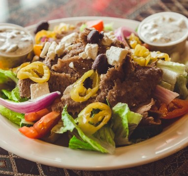 Greek Gyro Salad