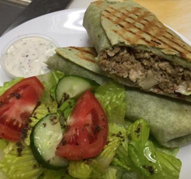 Chicken shawarma  chicken breast in Mediterranean spices